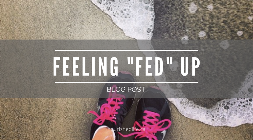 "Feeling ""Fed"" Up"
