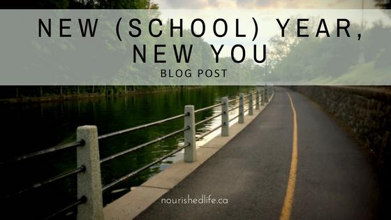 New (School) Year, NewYou