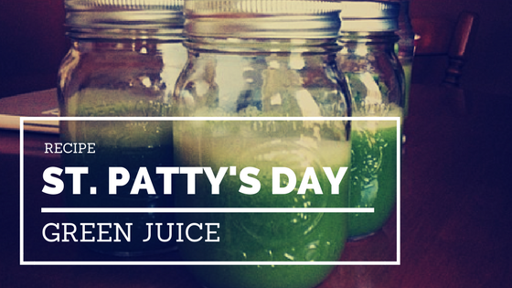 St. Patty's Day Green Juice Recipe